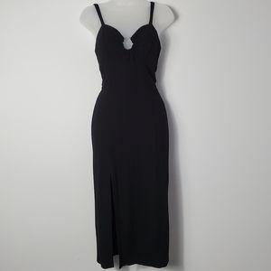 Willow & Clay Karina Ribbed Midi Dress - US XS